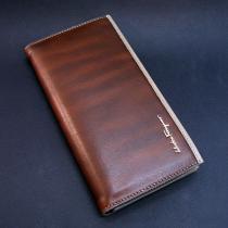 Кошелек-купюрник мужской кожаный Salvatore Ferragamo 8013