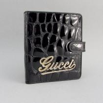 Визитница кожаная женская застежка Gucci 18-10839