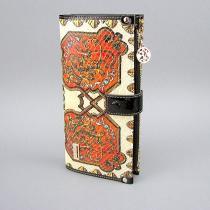 Кошелек кожаный женский цветной Velina Fabbiano 1051-6625