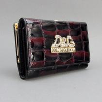 Кошелек кожаный женский средний Dolce&Gabbana 131-10840