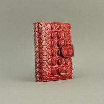 Визитница кожаная женская застежка Lison Kaoberg 47567a