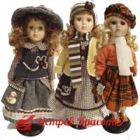 Акция! «Выбери подарок — коллекционную фарфоровую куклу!»