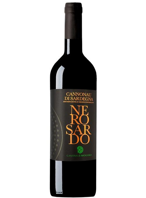 красное сухое вино Cannonau di Sardegna D.O.C. Mogoro, 750 мл